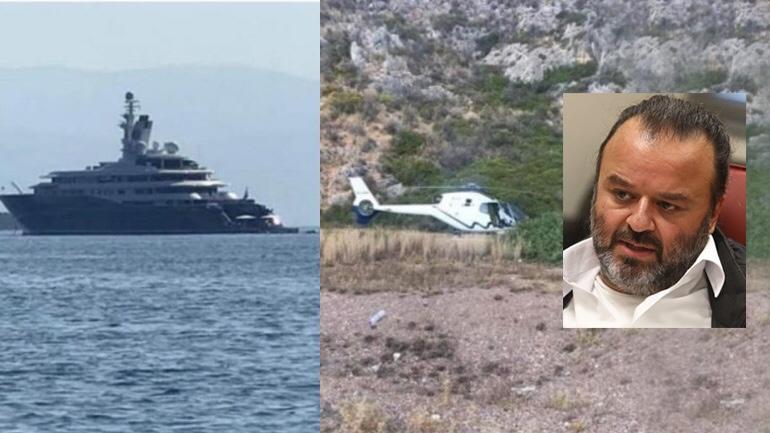 Η θαλαμηγός του εμίρη και το ελικόπτερο του εφοπλιστή…