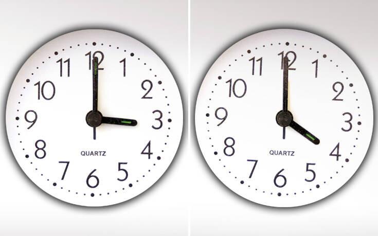Κανονικά η αλλαγή της ώρας – Πότε αλλάζει
