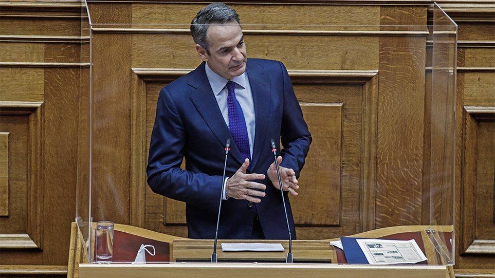 Κορυφαίο ολίσθημα Μητσοτακη πριν λίγο στη Βουλή – Αναμένεται ξεσηκωμός των γαλάζιων βουλευτών